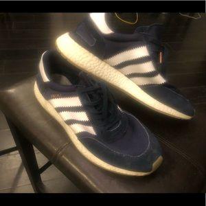 Blue Adidas sneakers men's US 12